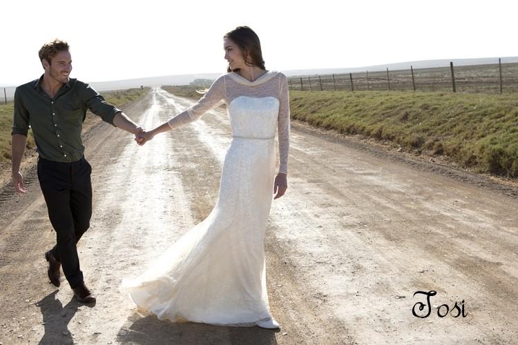 suknia ślubna boho 2015
